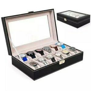 Accessories - 12 Slot Watch Box - Black
